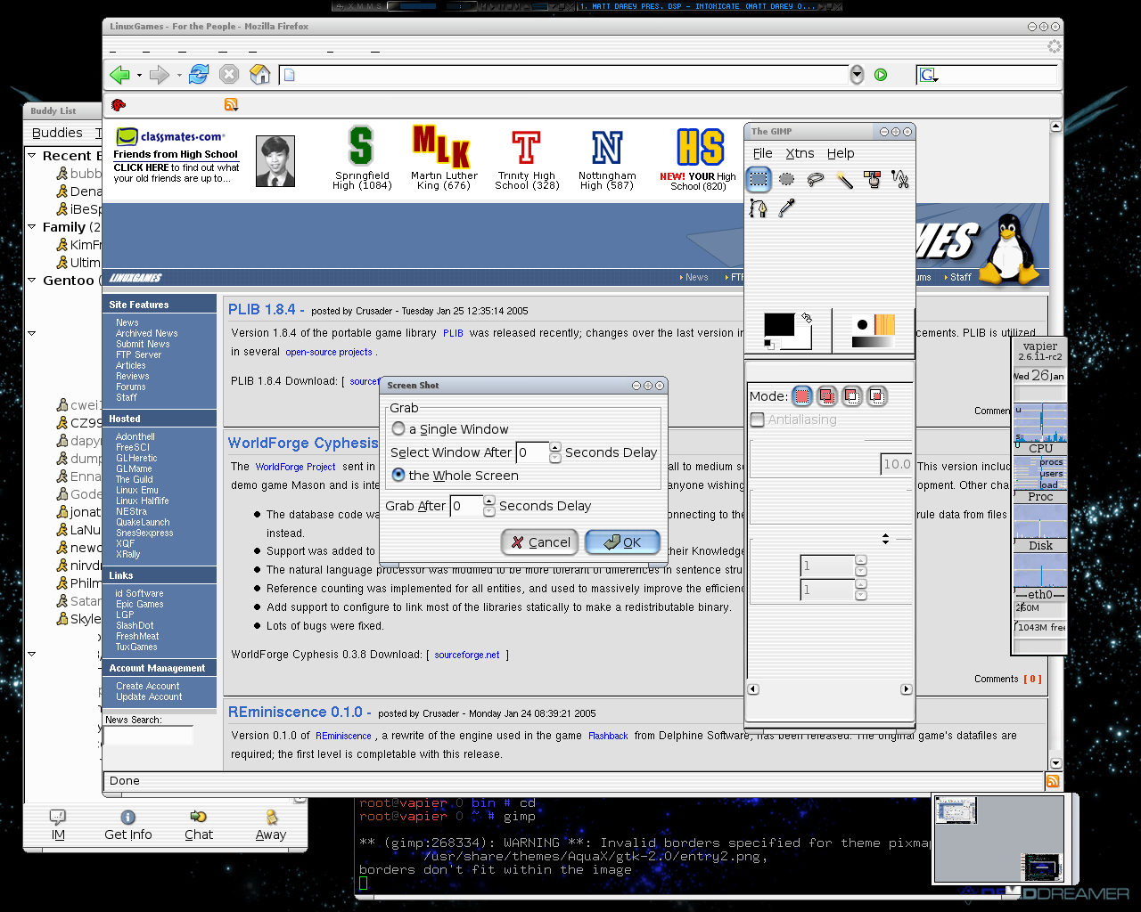 Gentoo Forums :: View topic - Funky behavior in X (SOLVED
